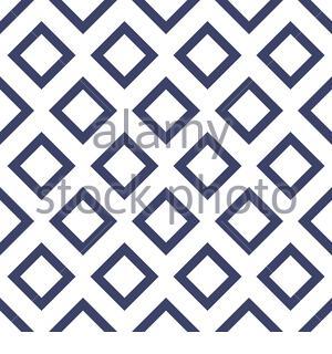 Motif géométrique transparent vectoriel abstrait avec rhombus. Fond bleu décoratif Banque D'Images