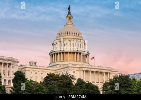 Bâtiment du Capitole DES ÉTATS-UNIS à Washington DC