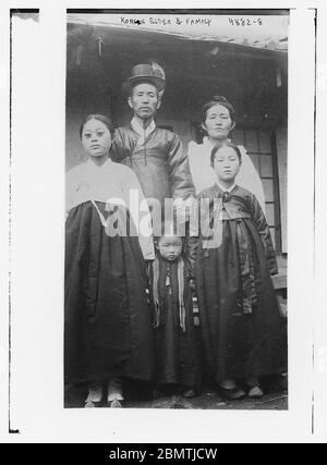 Ancien et famille coréen (LOC) par la Bibliothèque du Congrès