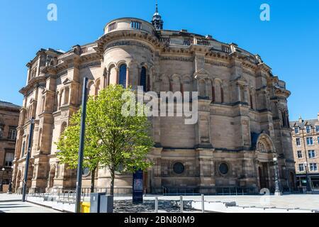 University of Edinburgh McEwan Hall on Bisto Square, Southside, Edinburgh, Écosse, Royaume-Uni Banque D'Images