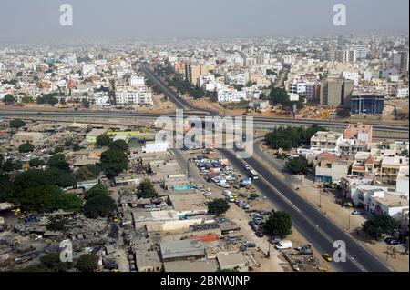 Dakar, Sénégal, Afrique de l'Ouest. Banque D'Images