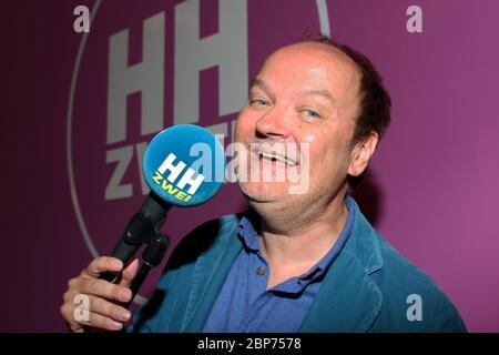 Jens Wawrzeck, Fototermin im Hamburg Zwei 80er Cafe à Ottensen, Hambourg, 15.08.2019