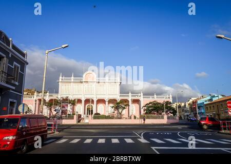 Mindelo/Cap-Vert - 20 août 2018 - Palais du Gouvernement à Sao Vicente