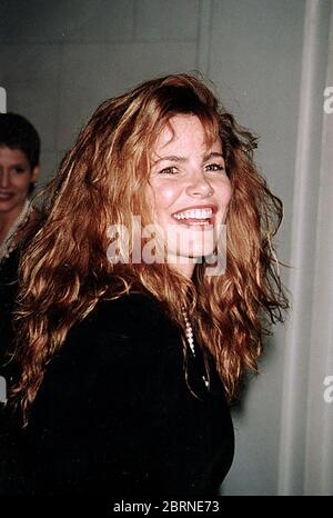 Tawny Kitaen au mariage Donald Trump et Marla Maples -12/20/93. Crédit : John Barrett/PhotoLink/MediaPunch