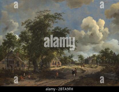 Peinture; huile sur toile; hors tout: 93.1 x 127.8 cm (36 5/8 x 50 5/16 in.) encadré: 122.6 x 158.4 cm (48 1/4 x 62 3/8 in.);