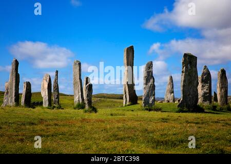 Calanais Standing Stones, Isle of Lewis, Outer Hebridies, Écosse.