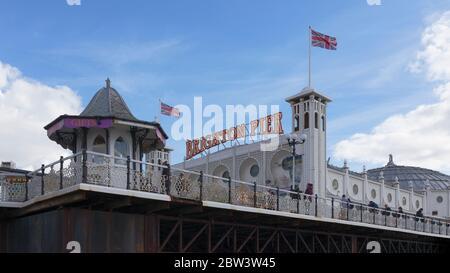 Brighton Palace Pier, Brighton, Angleterre
