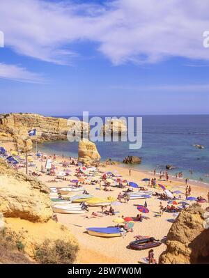 Praia de São Rafael, près de Albufeira, Faro, Algarve, Portugal Banque D'Images