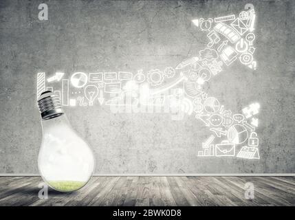 Idées de marketing efficace Banque D'Images