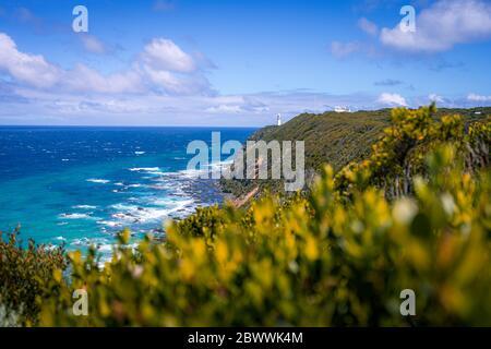 Vue incroyable depuis la colline, Australie