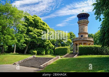 Royaume-Uni, Yorkshire du Sud, Barnsley, Locke Park Tower