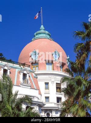 Le Hôtel Negresco, Promenade des Anglais, Nice, Côte d'Azur, Alpes-Maritimes, Provence-Alpes-Côte d'Azur, France Banque D'Images