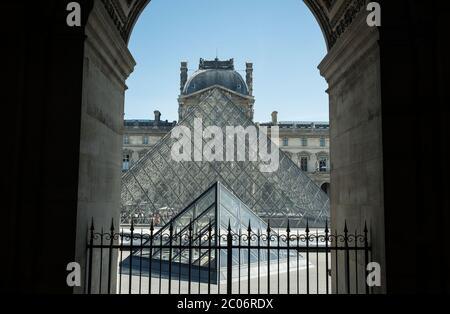Paris, Louvre, France, art, peinture, sculpture, musée Banque D'Images
