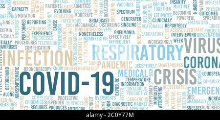 Covid-19 Coronavirus Infectious virus Disease Medical concept Banque D'Images