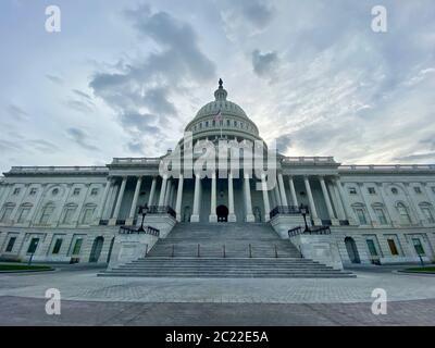 Washington D. C., District de Columbia, États-Unis. 15 juin 2020. Bâtiment du Capitole des États-Unis crédit : Amy Katz/ZUMA Wire/Alay Live News Banque D'Images