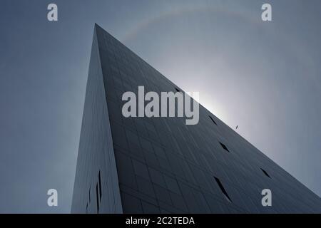 Bâtiment moderne du musée de Liverpool et de la galerie Open Eye à Liverpool, au Royaume-Uni Banque D'Images