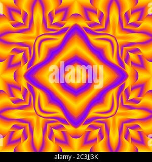 Arrière-plan futuriste rétro OP Art. Illusion optique arrière-plan 80. Banque D'Images