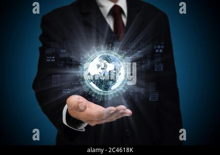 Concept Big Data Internet