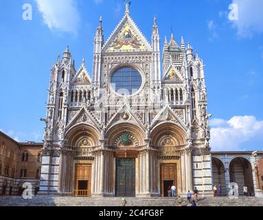 Duomo (cathédrale de Sienne), Siena (Sienne), province de Sienne, Toscane, Italie