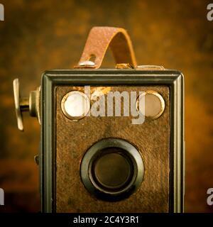 Vieille caméra Banque D'Images