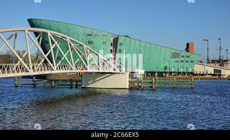 MUSÉE DES sciences NEMO, Amsterdam, Hollande-du-Nord, pays-Bas