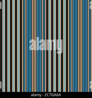 Arrière-plan à rayures verticales et sans couture adapté aux textiles de mode et aux motifs Banque D'Images