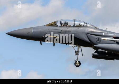 US Air Force F-15F Strike Eagle