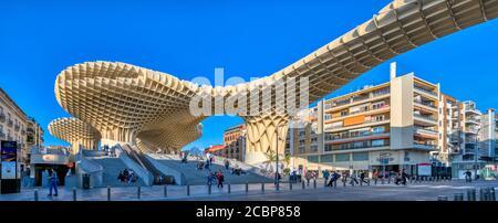 Metropol structure de parasol, Séville, Espagne