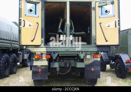 Véhicule militaire russe moderne pour le transport des soldats