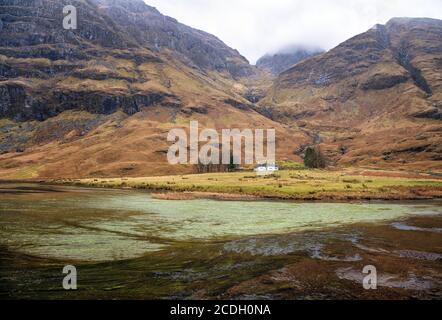 Achnambethach Cottage à Glen COE, Highlands, Ecosse,
