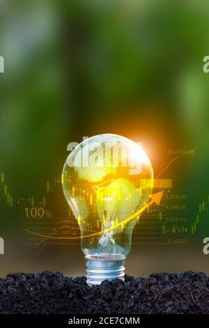 Des concepts d'économie d'énergie et de financement avec une technologie de pointe et de la créativité