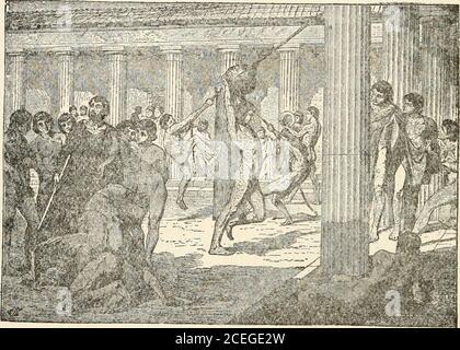 . Hommes de la Grèce ancienne, par Jennie Hall. Heures chaque jour, il doit aller au gymnase dans l'avion-arbre Grove.Ion était souvent là pour le regarder. Après le travail a été terminé le vieil homme a pris le boypour une marche. Parfois, c'était le long des rives des Eurotas, dans le pays.parfois, c'était au sujet de la ville, de voir les statues et les bâtiments publics. Toujours Leonidas a appris quelque chose de nouveau pendant ces promenades. Peut-être Ion a-t-il dit himthe histoire de Troie ou d'un certain dieu. Perhapslie lui a enseigné quelques sages propos de Lycur-gus. Peut-être a-t-il pris des pierres et lui a-t-il osé compter. Peut-être, comme ils griffent devant une statue, Leonida