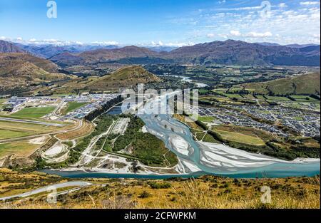 .Queenstown, Île du Sud, Nouvelle-Zélande, Océanie.
