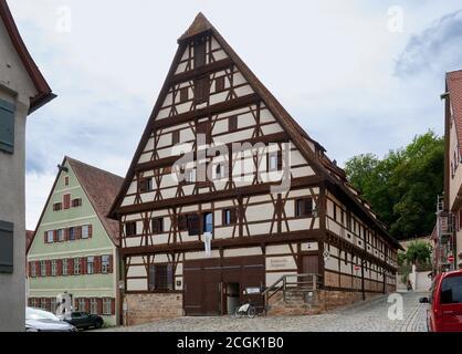 Kinderzech-Zeughaus, Dinkelsbuhl, Frankonie centrale, Bavière, Allemagne Banque D'Images