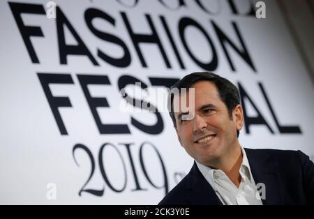 Nicolas Houze, PDG des Galeries Lafayette, participe à la 4e édition du Vogue Fashion Festival à Paris, France, le 15 novembre 2019. REUTERS/Gonzalo Fuentes Banque D'Images
