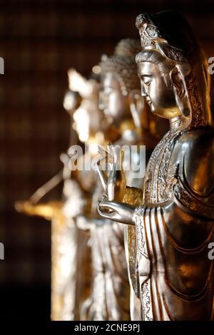 Khai Doan King honore Pagode, Quan Am (Guan Yin), la Bodhisattva de compassion (Déesse de la Miséricorde), Buon Me Thuot, Vietnam