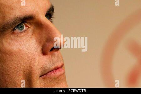 70th Cannes Film Festival - News conference for the film 'The Meyerowitz Stories' (New and Selected)  in competition - Cannes, France. 21/05/2017.  Cast member Ben Stiller attends.  REUTERS/Regis Duvignau - Stock Photo