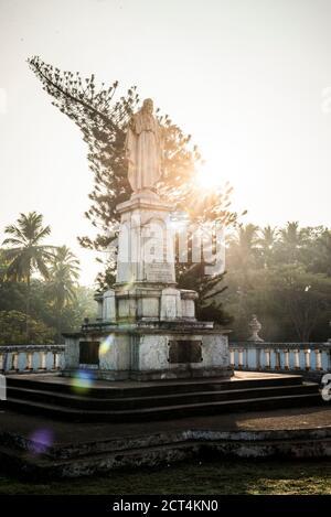 Se Catedral de Santa Catarina, site classé au patrimoine mondial de l'UNESCO à Old Goa, Goa, Inde