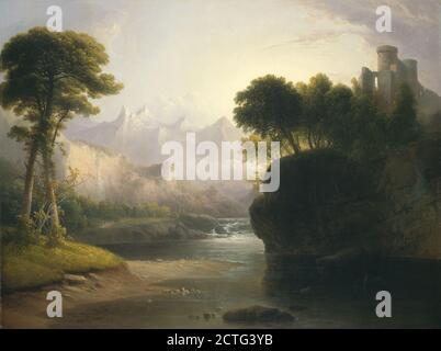 Peinture; huile sur toile; hors tout: 76.3 x 101.5 cm (30 1/16 x 39 15/16 in.) encadré: 105.7 x 130.5 x 11.8 cm (41 5/8 x 51 3/8 x 4 5/8 in.);