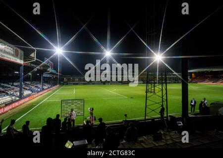 Luton, Royaume-Uni. 07th July, 2020. Pendant le match de la Carabao Cup entre Luton Town et Manchester United derrière des portes fermées à Kenilworth Road, Luton, Angleterre, le 22 septembre 2020. Photo de David Horn. Crédit : Prime Media Images/Alamy Live News Banque D'Images