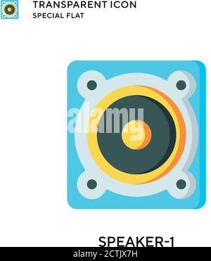 Aliens icône vectorielle circulaire plate détaillée. Illustrations de la métaphore du concept vectoriel isolé. Banque D'Images