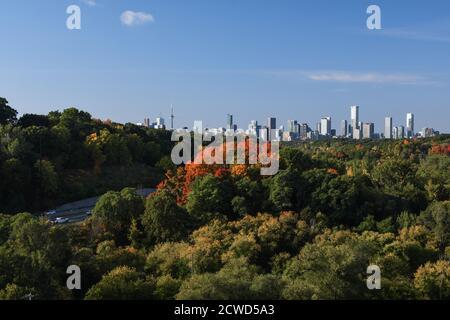 Toronto Skyline en automne