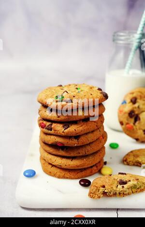 Chocolat et biscuit de bonbons / pâtisserie de Noël