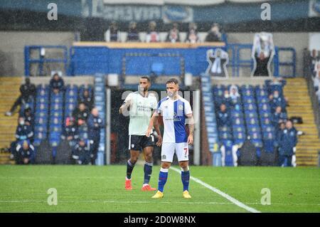 BLACKBURN, ANGLETERRE. 3 OCTOBRE Adam Armstrong de Blackburn Rovers lors du match de championnat Sky Bet entre Blackburn Rovers et Cardiff City à Ewood Park, Blackburn, le samedi 3 octobre 2020. (Credit: Pat Scaasi | MI News) Credit: MI News & Sport /Alay Live News Banque D'Images