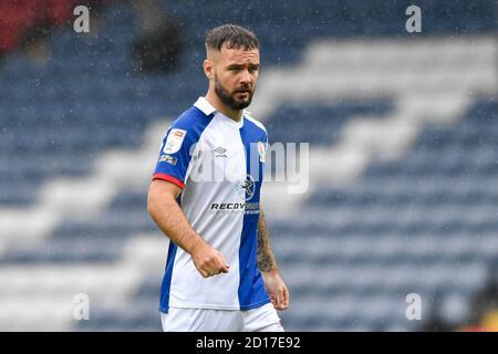 Adam Armstrong (7) de Blackburn Rovers en action pendant le jeu Banque D'Images
