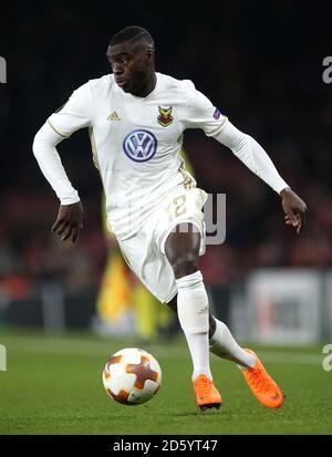 Ken Sema du FK d'Ostersunds