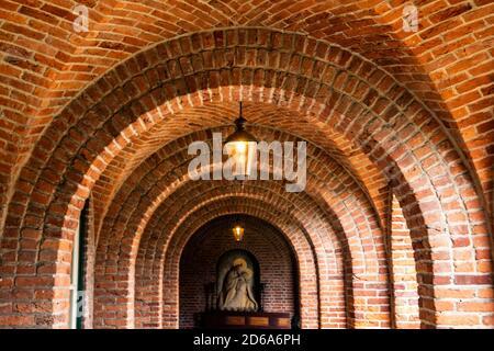 Ancienne abbaye d'Osendrecht, pays-Bas, Europe.