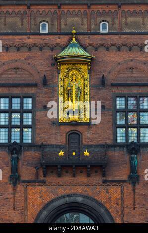 Hôtel de ville, Copenhague, Danemark, Europe