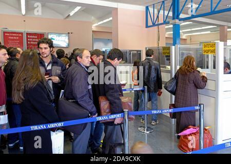 Aéroport international de mère Theresa, Tirana, Albanie
