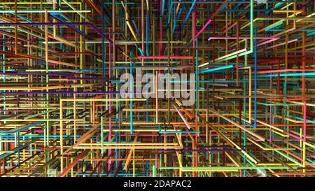 Répétition de l'arrière-plan des motifs colorés